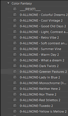 all in one color fantasy