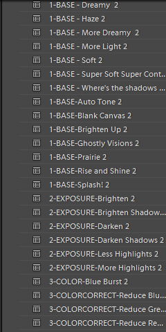 base, color correct and more