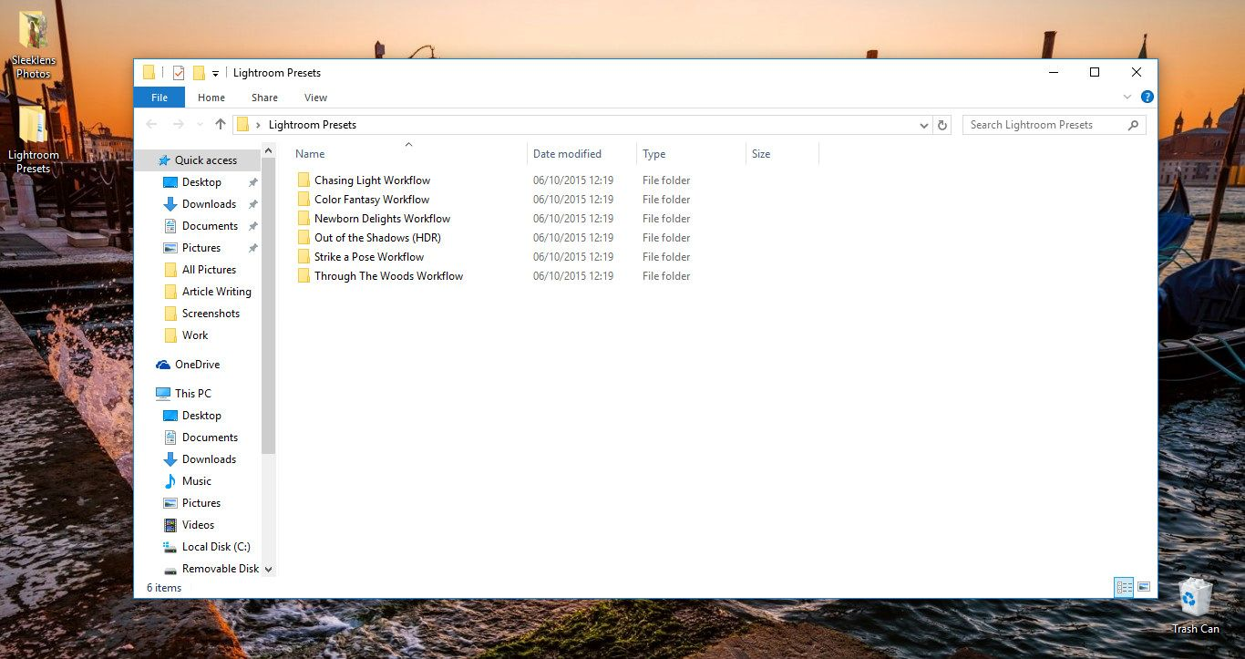 Importing and Reviewing Presets Pic 1