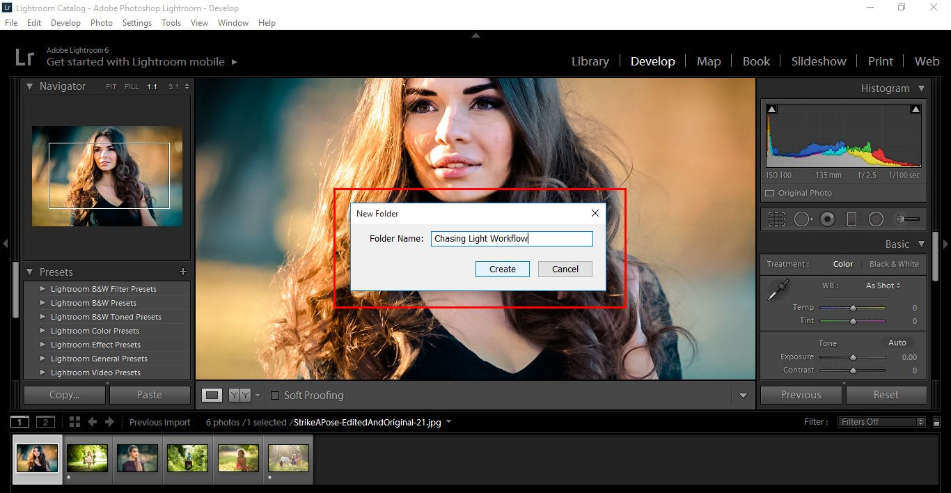 Importing and Reviewing Presets Pic 4