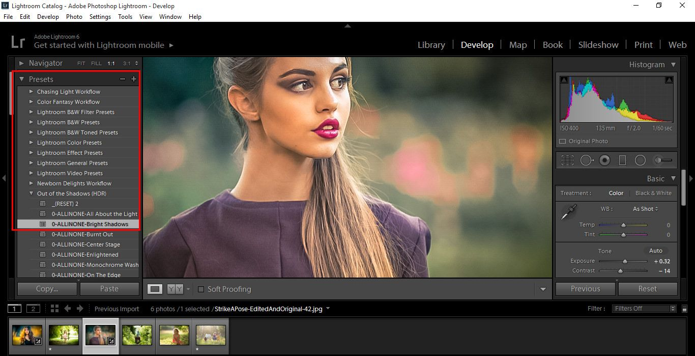 Importing and Reviewing Presets Pic 7