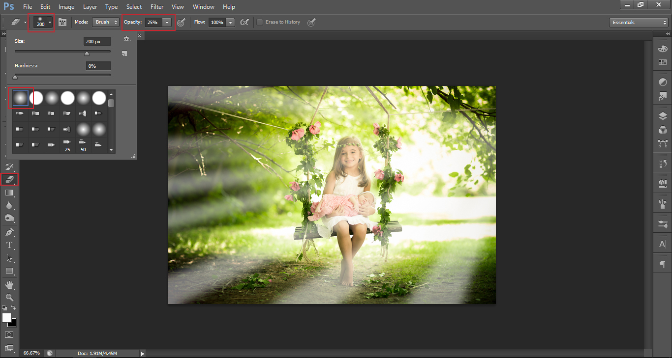 how to make light rays in photoshop photography