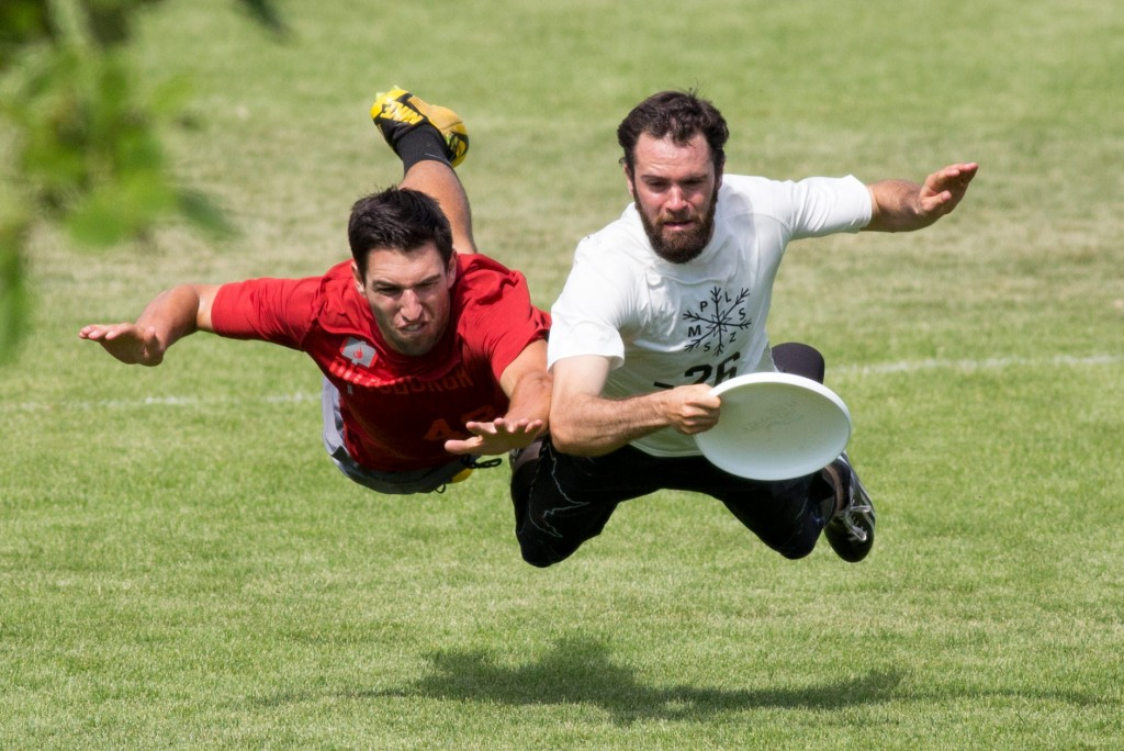 Sunday Action at the Colorado Cup in Aurora, CO. (c) Paul Rutherford for Ultiphotos.
