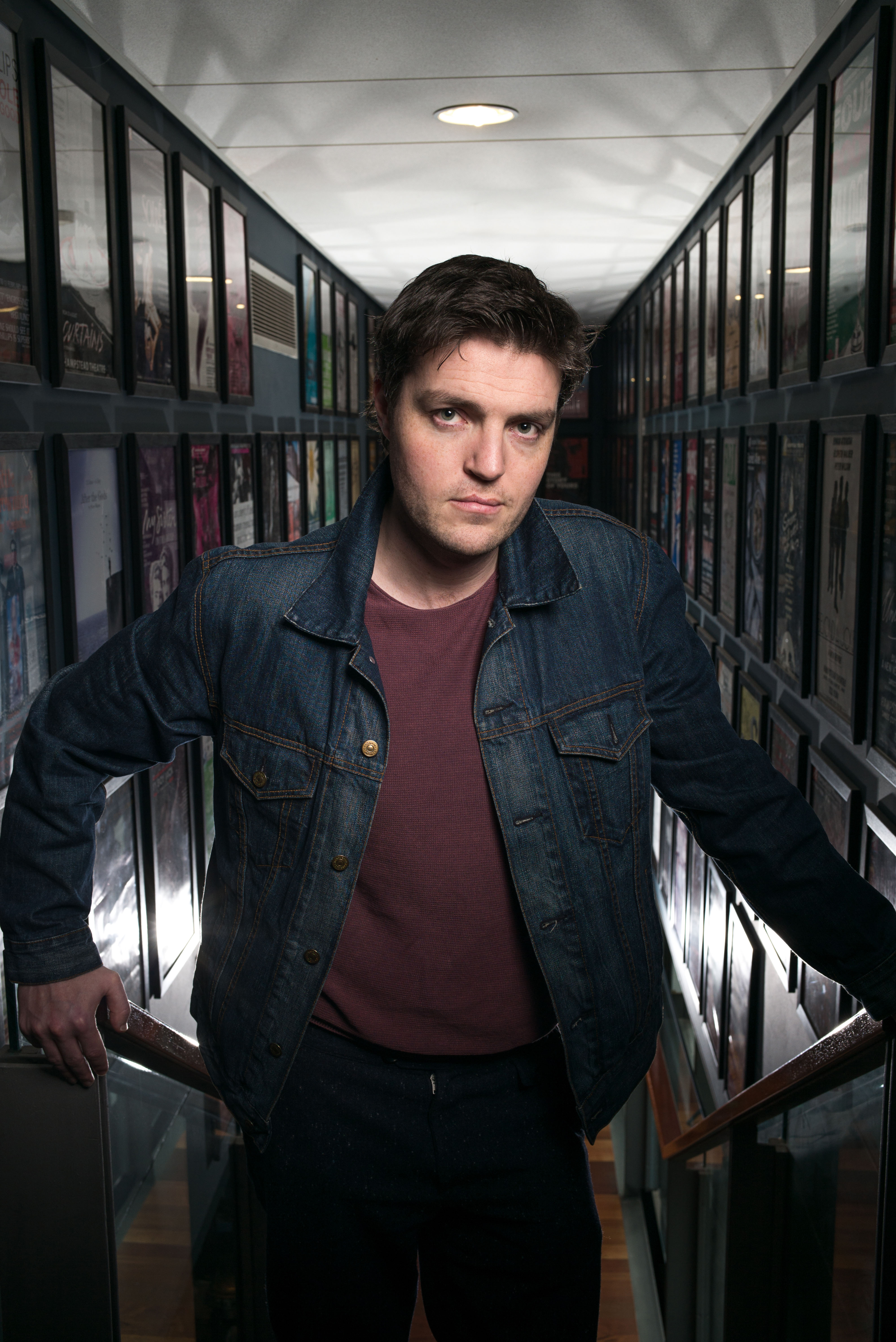 Commission May0068723 Assigned Portrait of Actor Tom Burke who is appearing in Reasons To Be Happy at Hampstead Theatre, Swiss Cottage, north London. MUST CREDIT PHOTO MATT WRITTLE © copyright Matt Writtle 2016. Picture commissioned exclusively by the Telegraph Media Group. Use in another publication will require a fee.