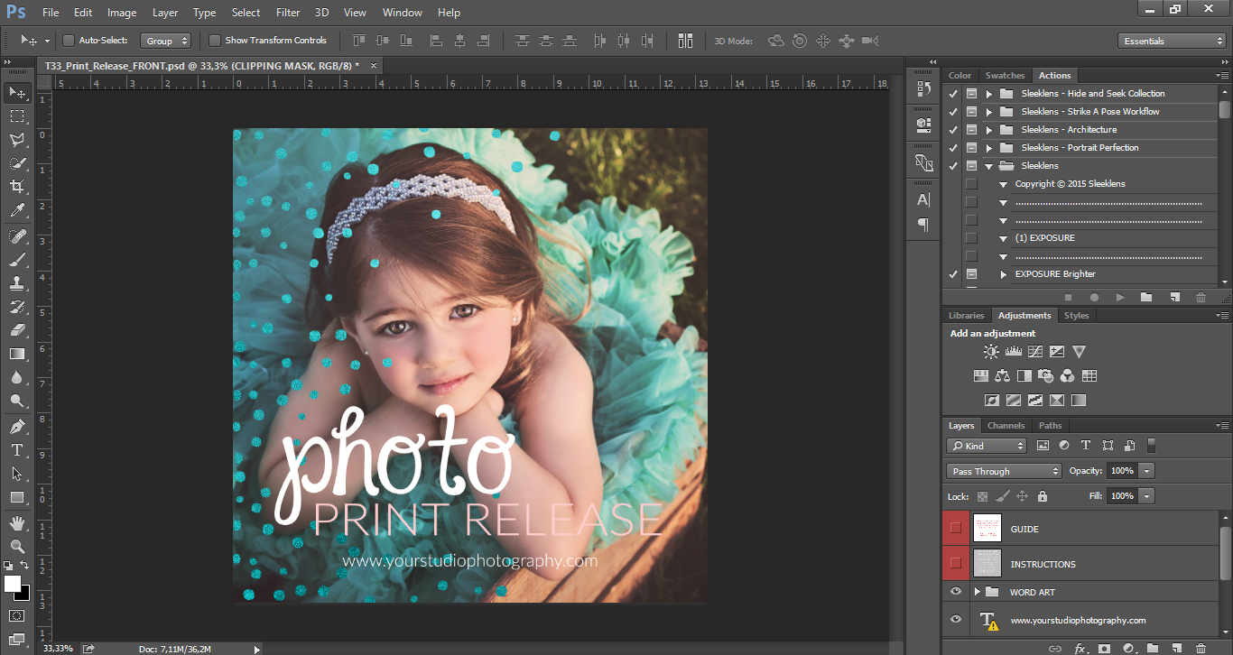 Photo Release Template