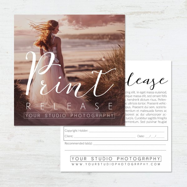 Photo Release Form Templates  Professionally Designed