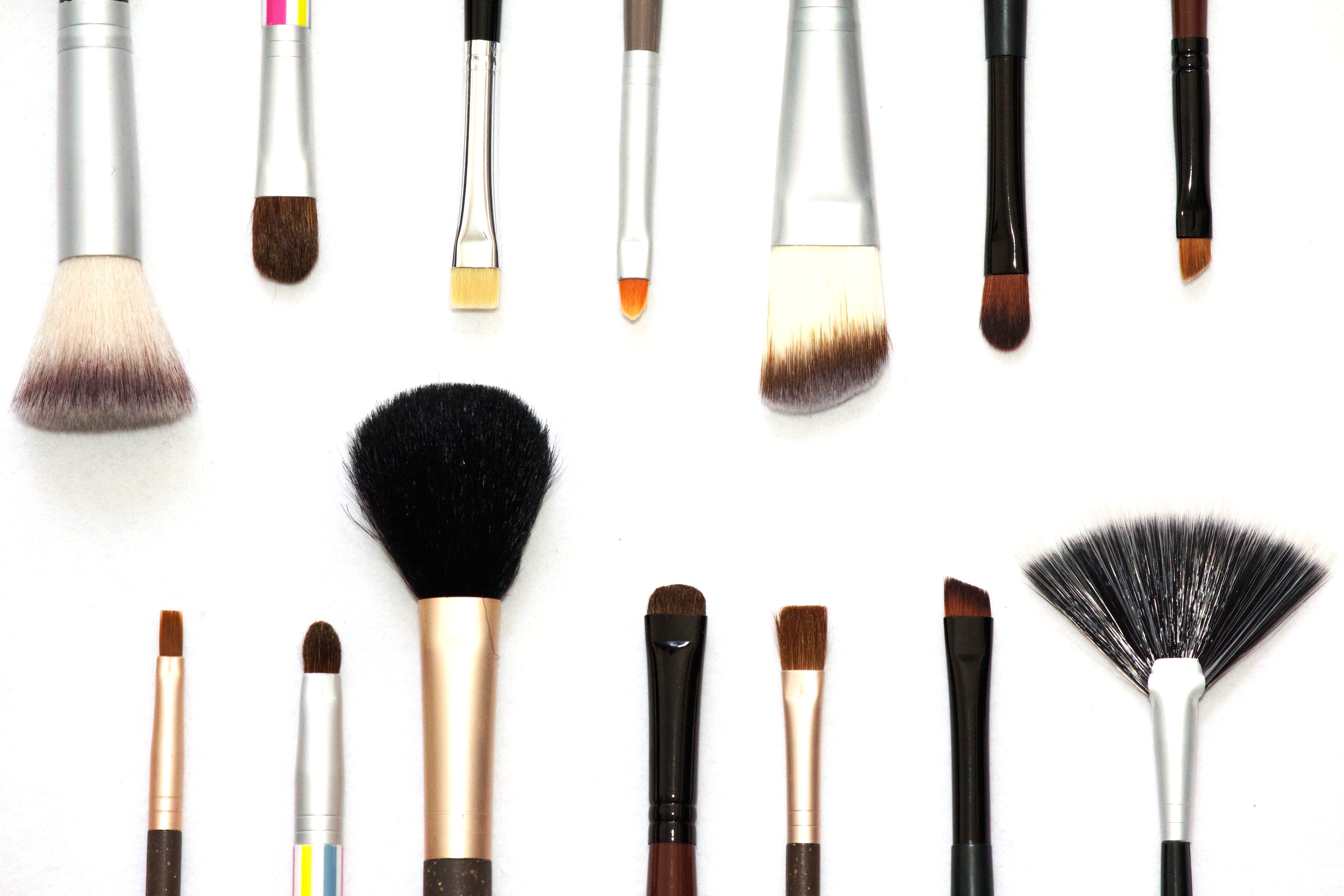 Make up brushes for different purposes