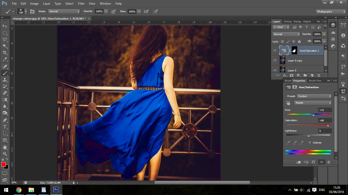 how to change the hihglight colour in adobe