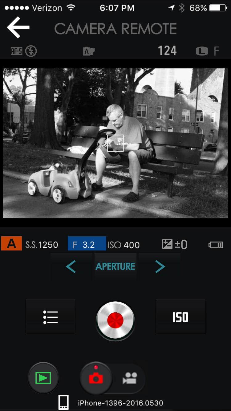 X-Pro2 WiFi App