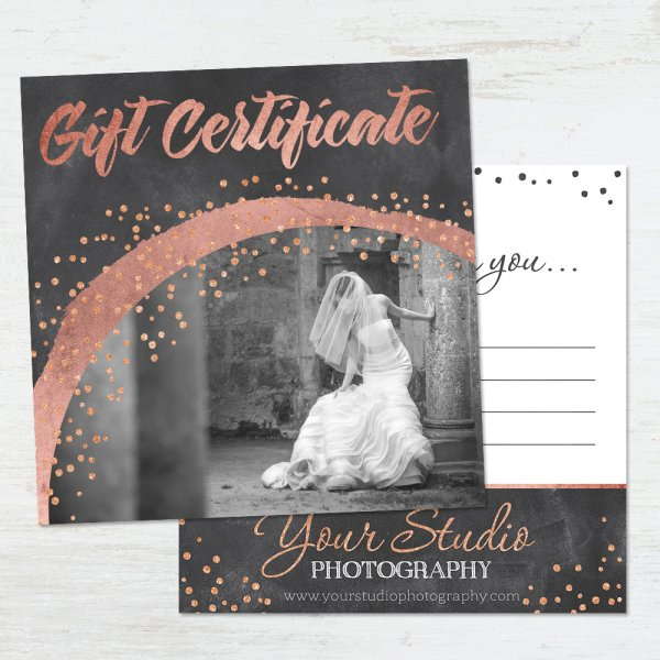 Gift Certificate Templates  Well Designed  Easily Adjustable
