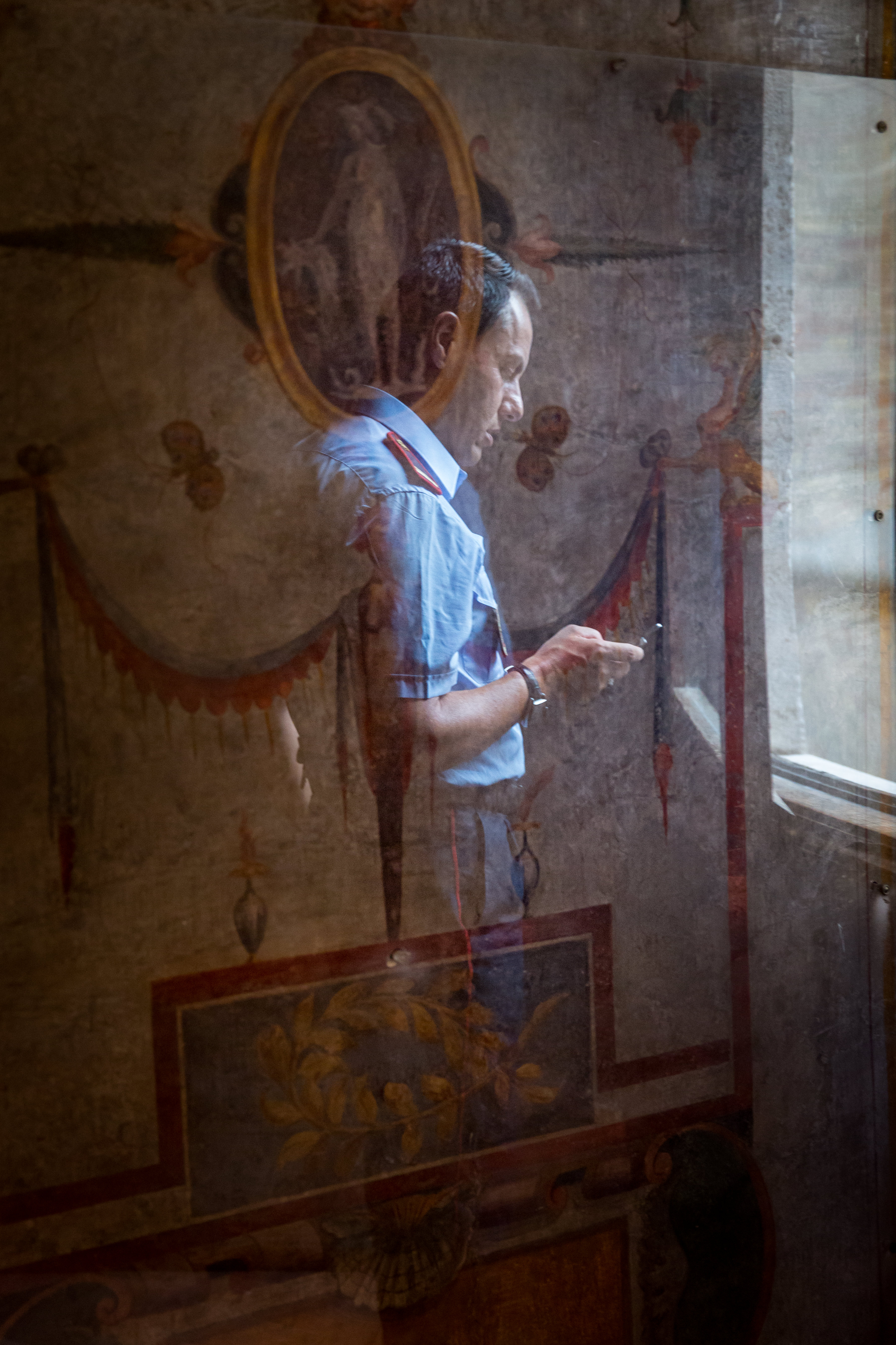 Guard, Vatican Museum