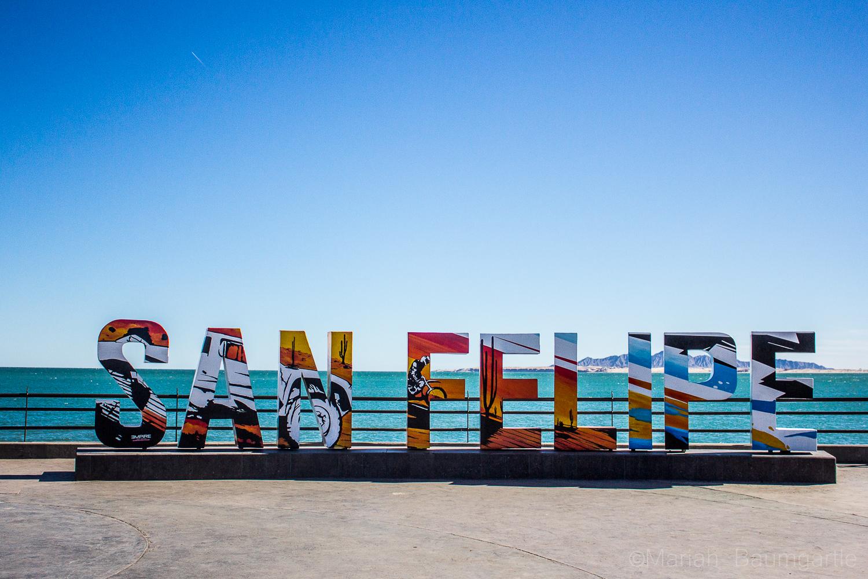 San Felipe Sign