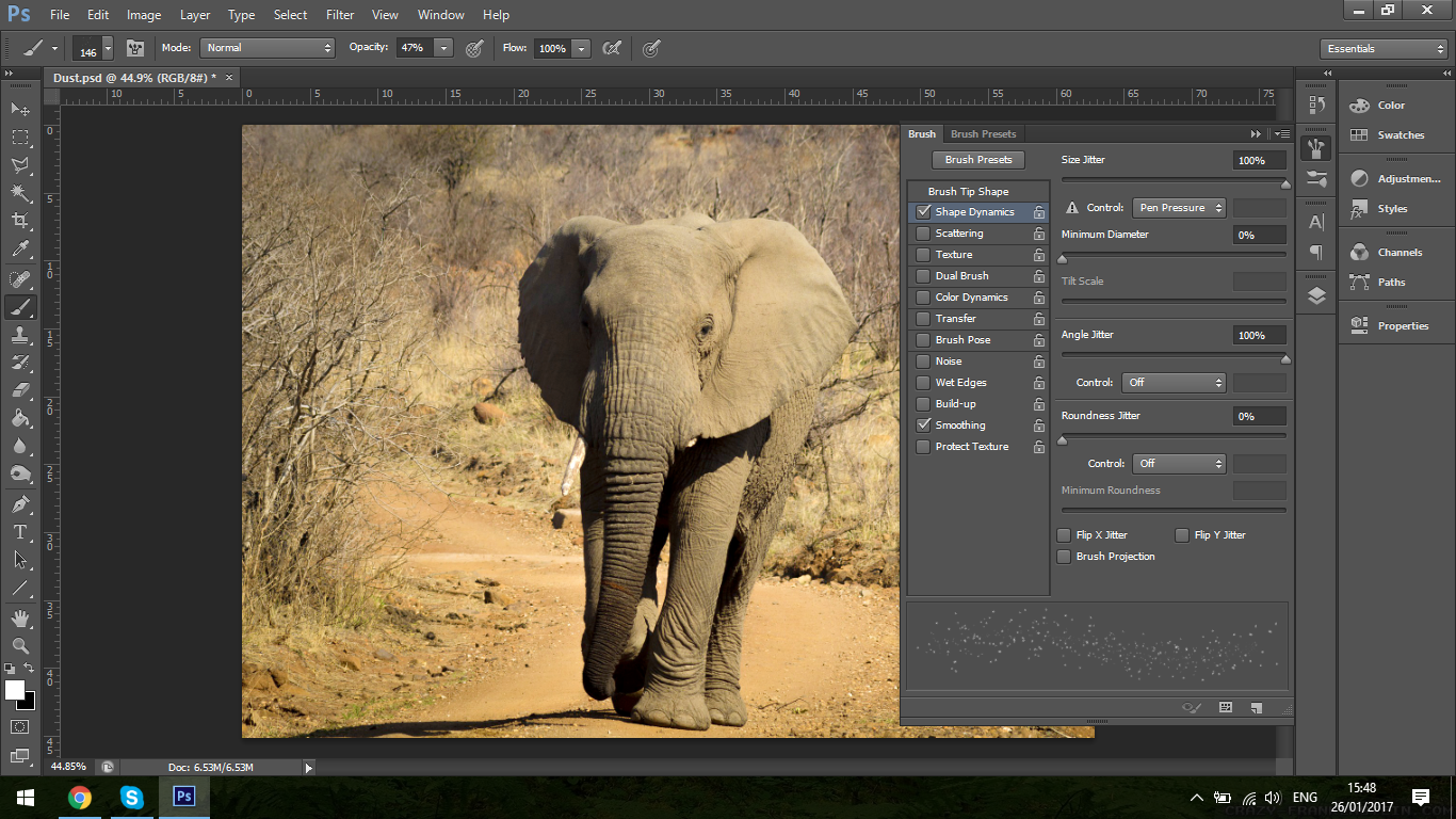 how to add image in adobe photoshop