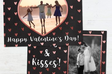 Customizable Valentines Day Photoshop Templates For