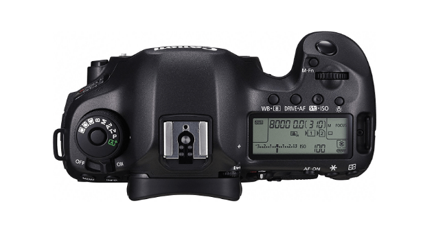 canon 5ds r controls