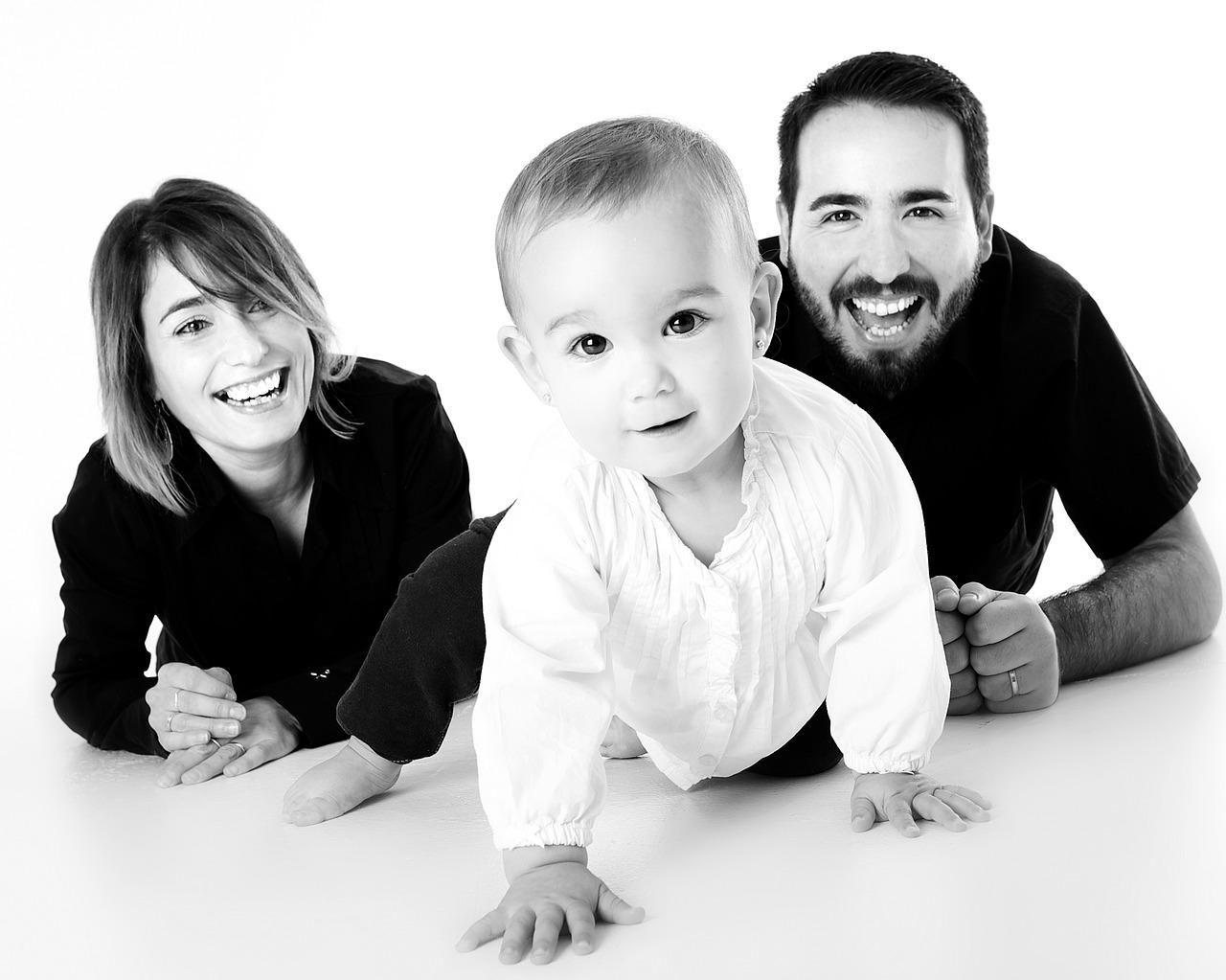 family portrait in-studio