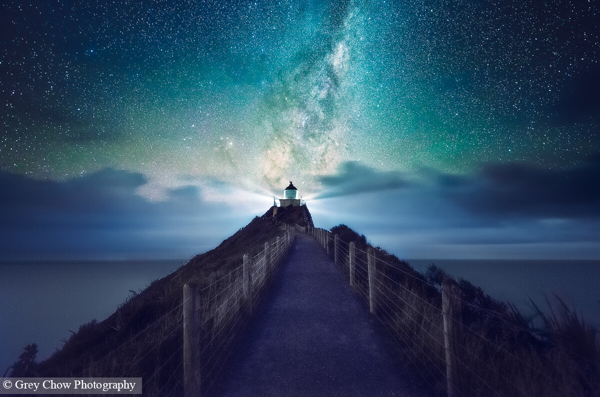 Nugget Point Milky Way