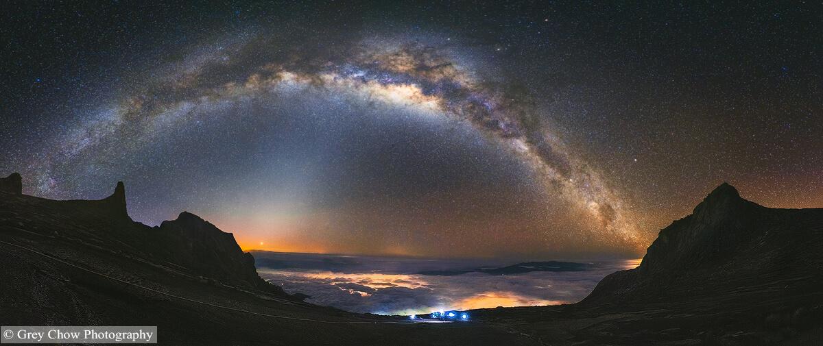 Mount Kinabalu Panorama Photo