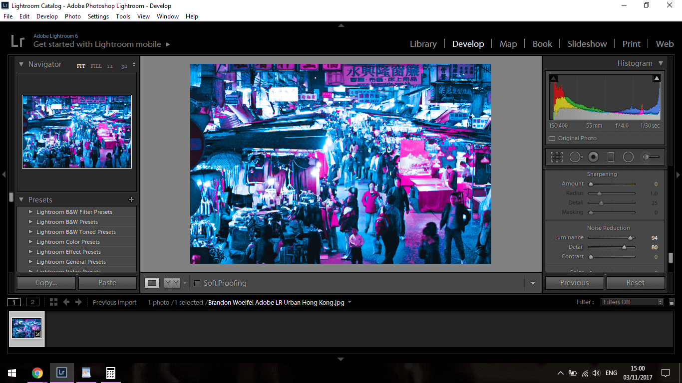 how to add someone in lightroom