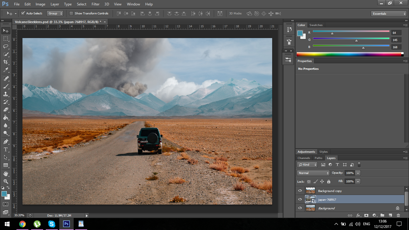 how to create layers in photoshop