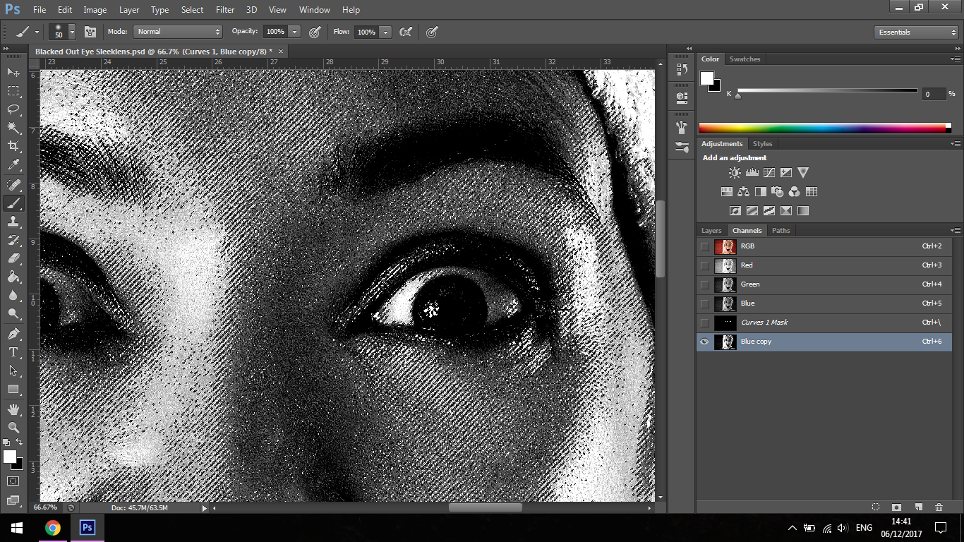 how to change direction of eyes in photoshop