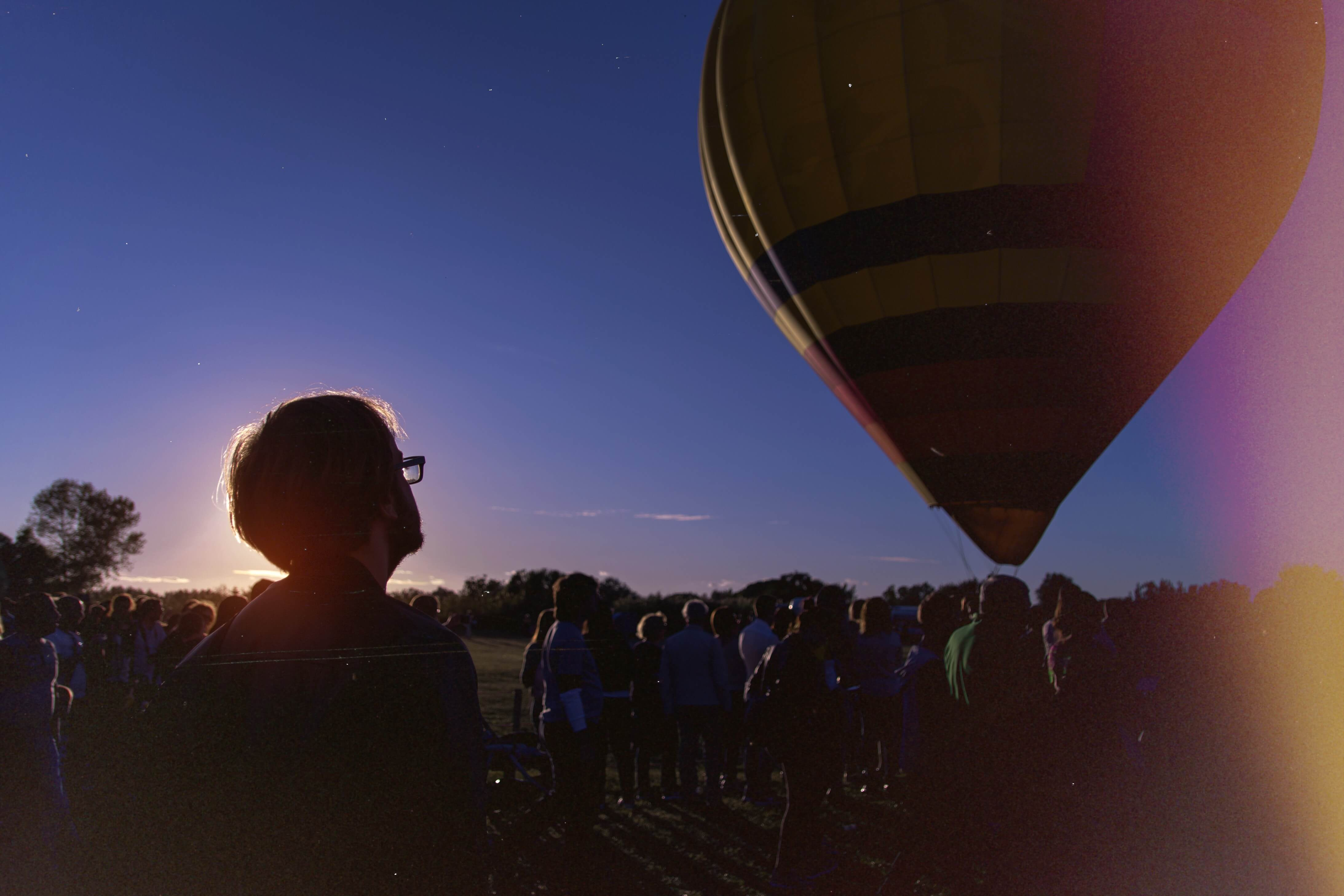 film photo hot air balloons