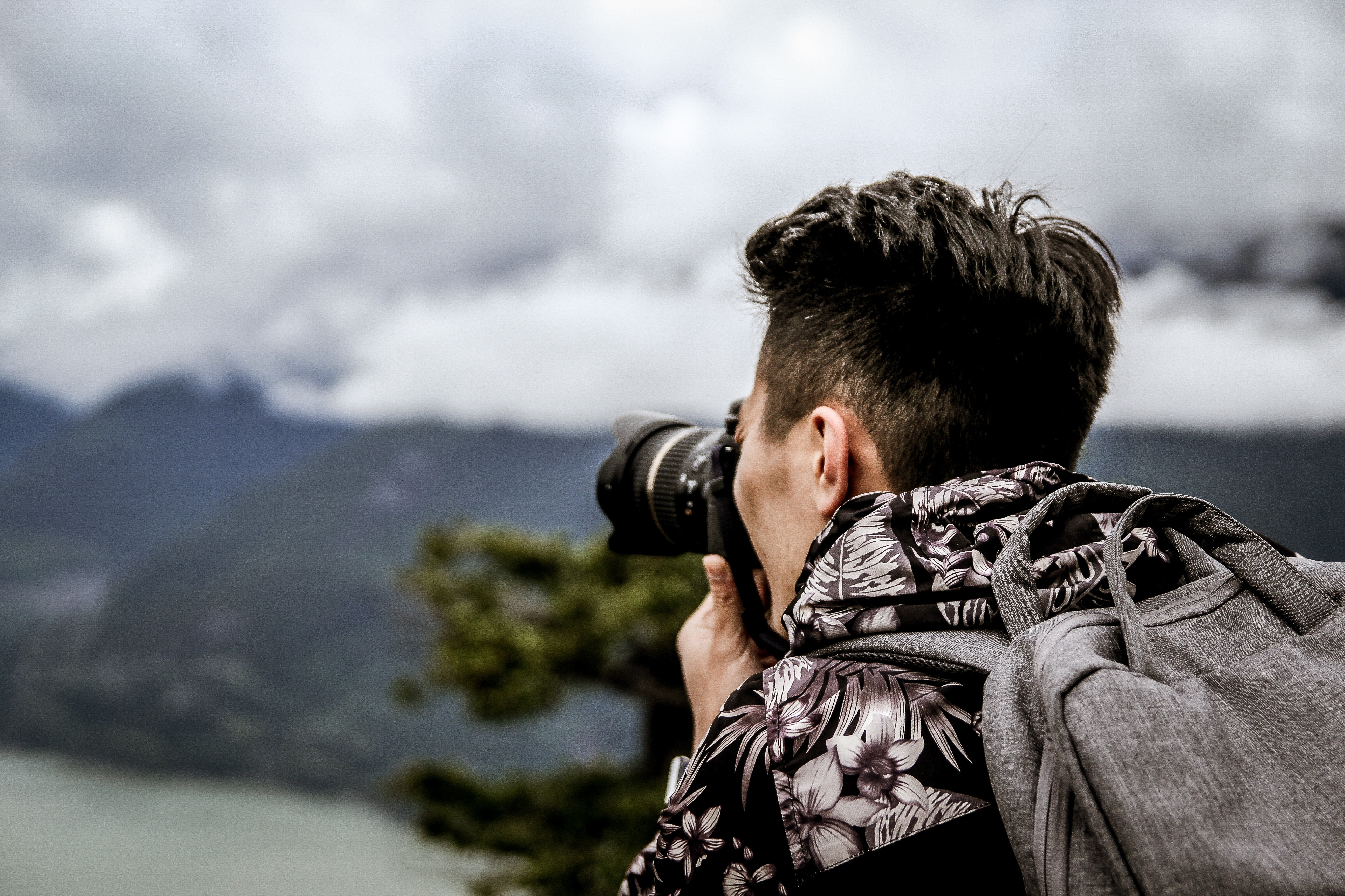 photographer travelling