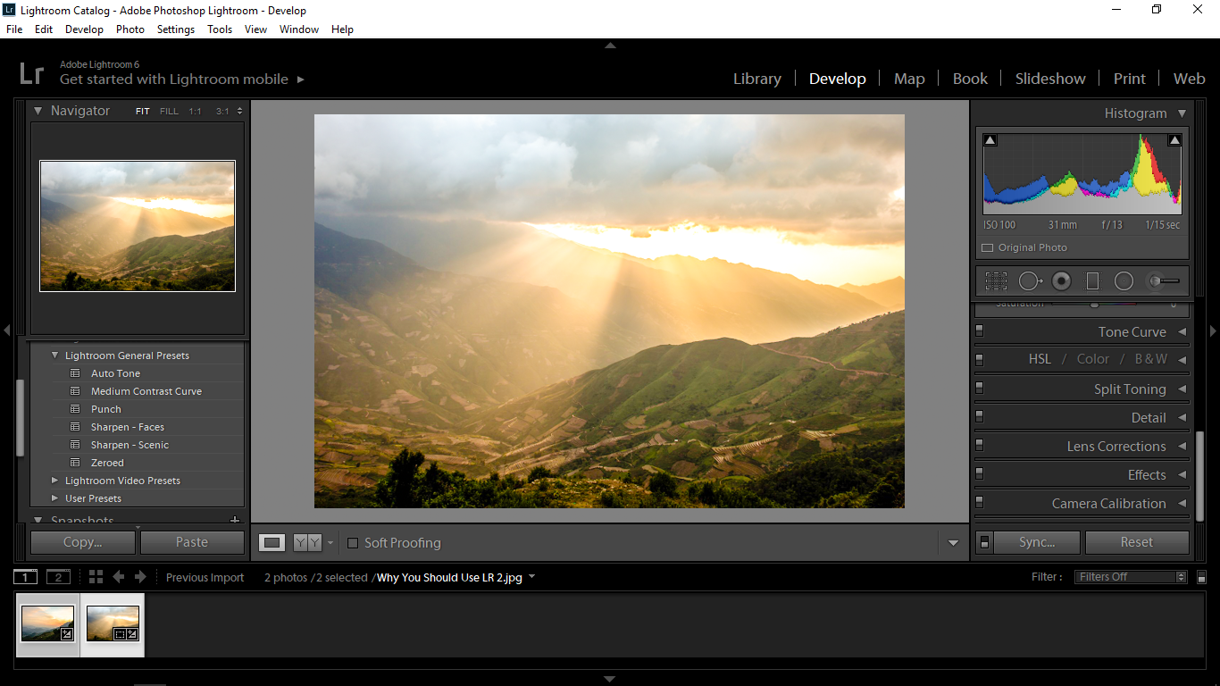 Why You Should Use Lightroom to Edit Your Photos