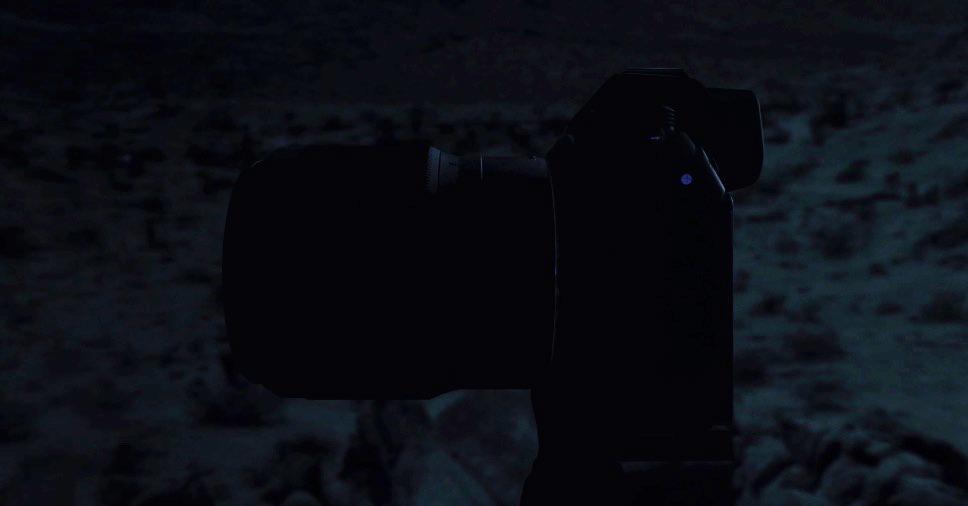 Nikon Mirrorless Screenshot from Nikon teaser video