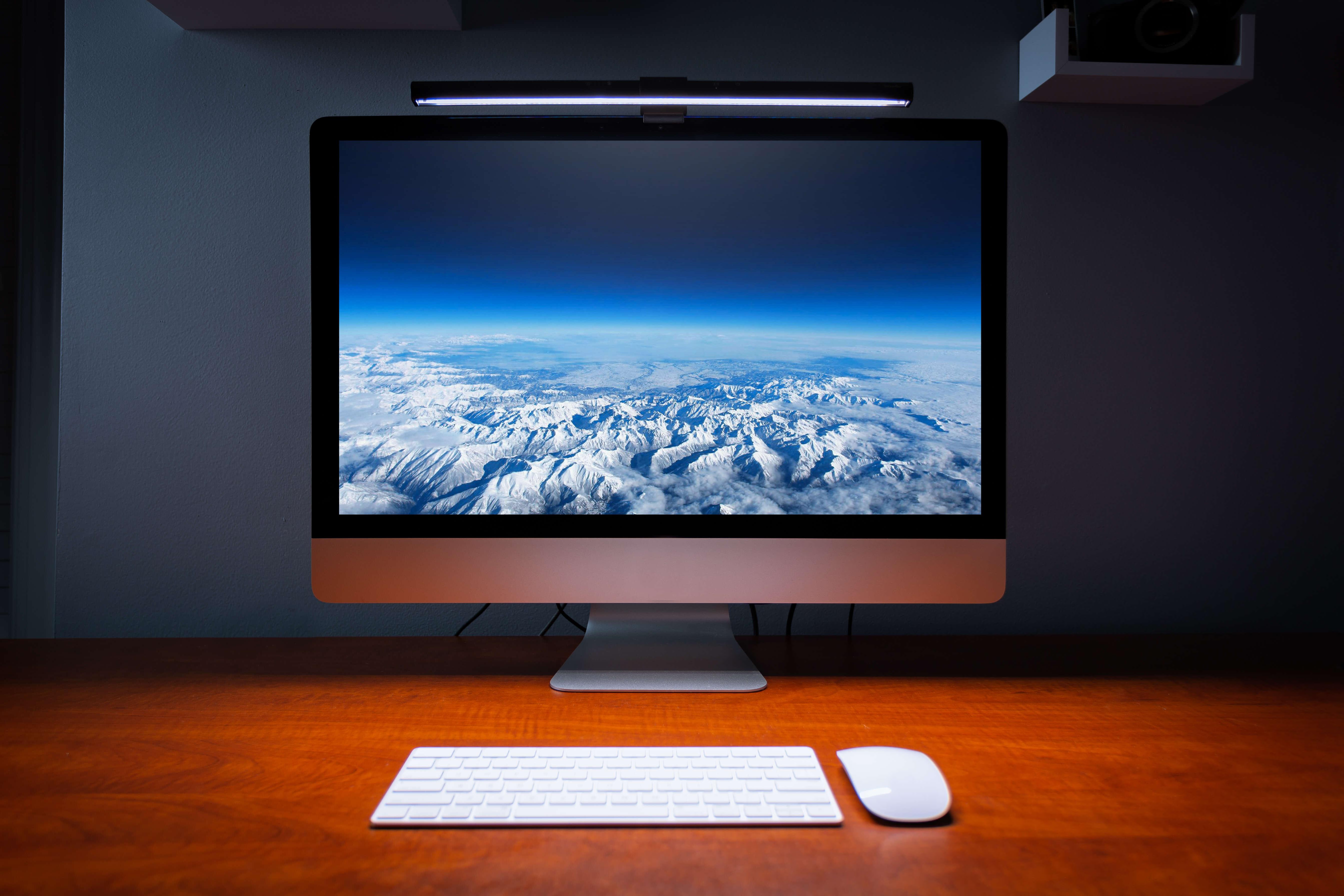 screenbar on