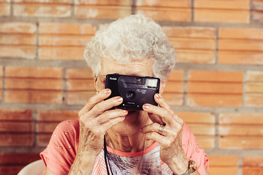 old people photography