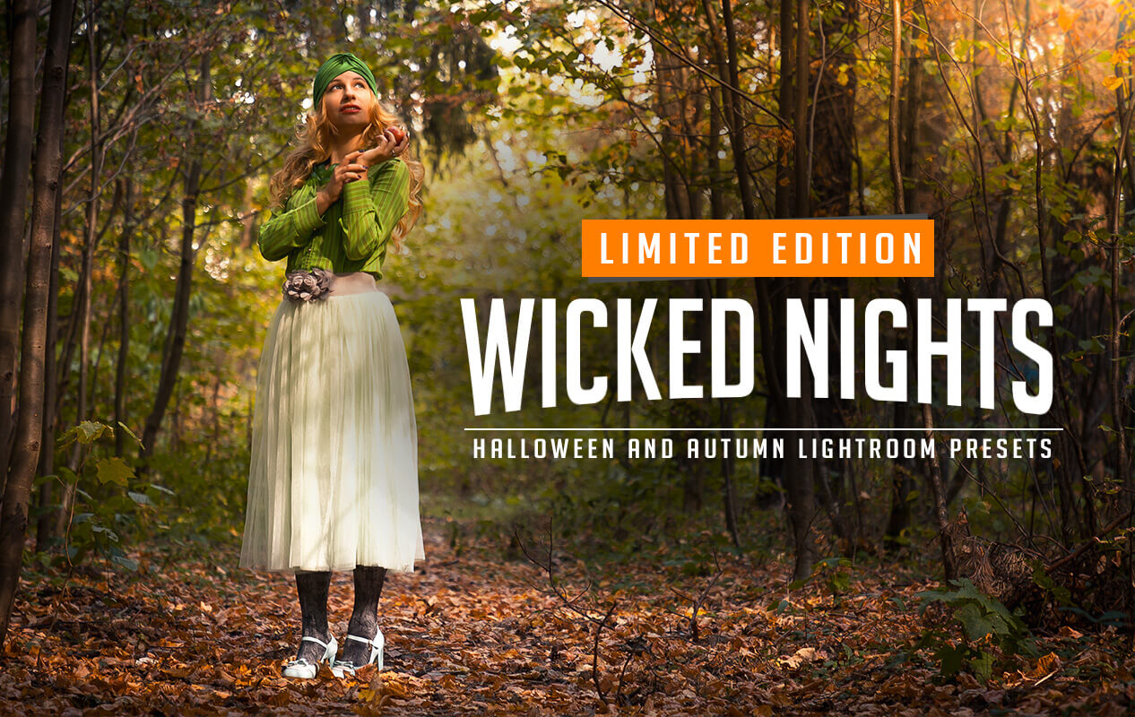 Wicked Nights Halloween Lightroom Presets