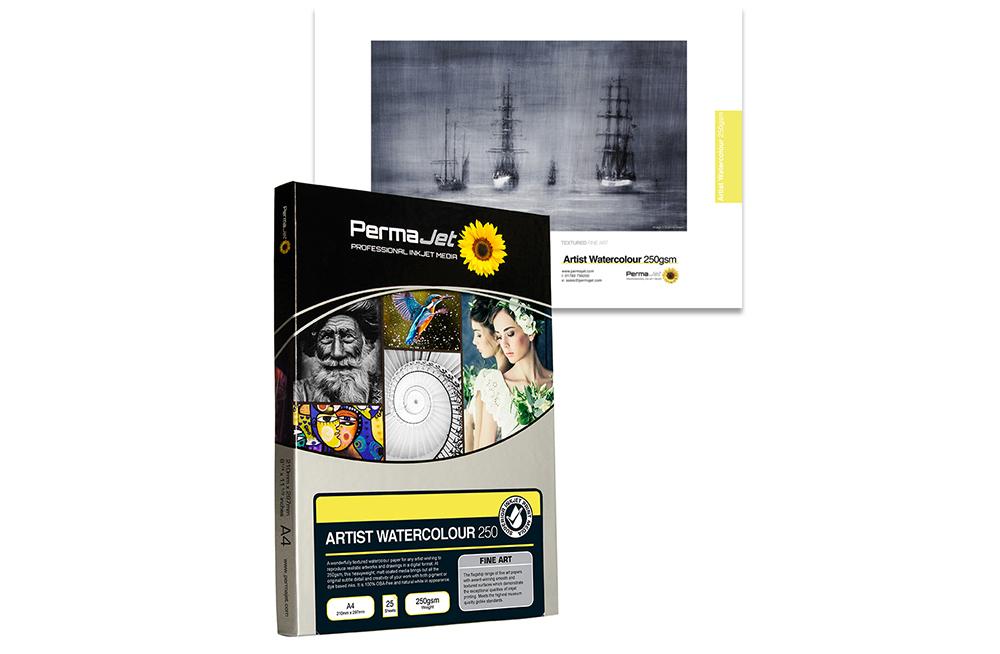 Permajet Textured Fine Art paper range