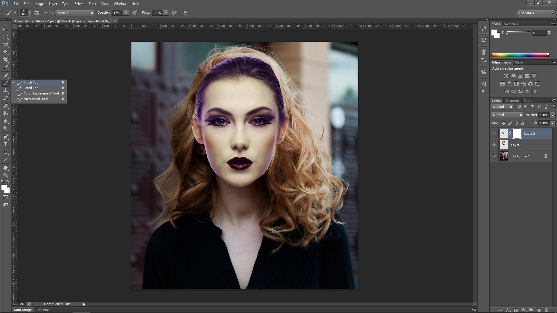 Photoshop Model