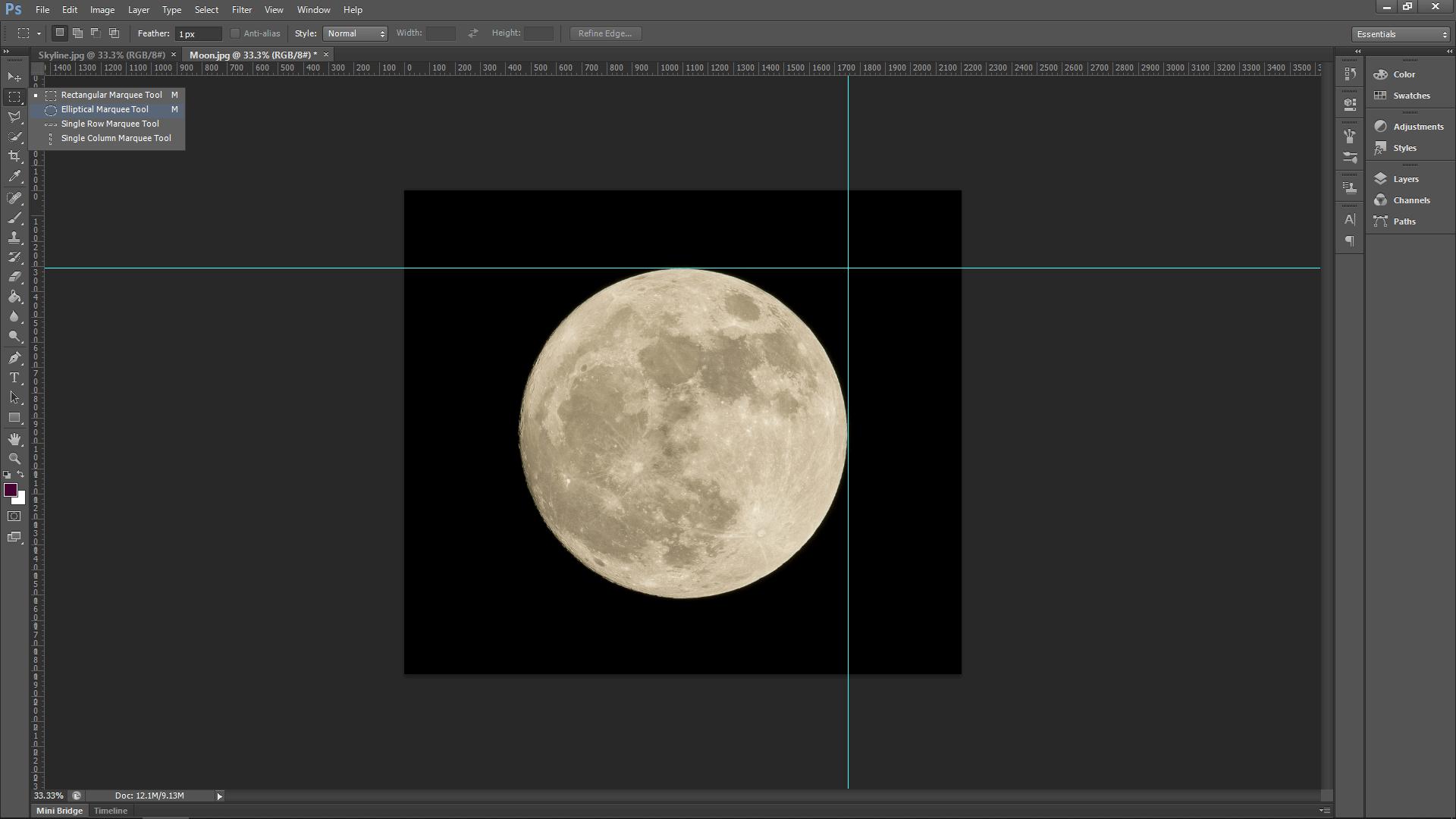 Simple Photoshop Composite