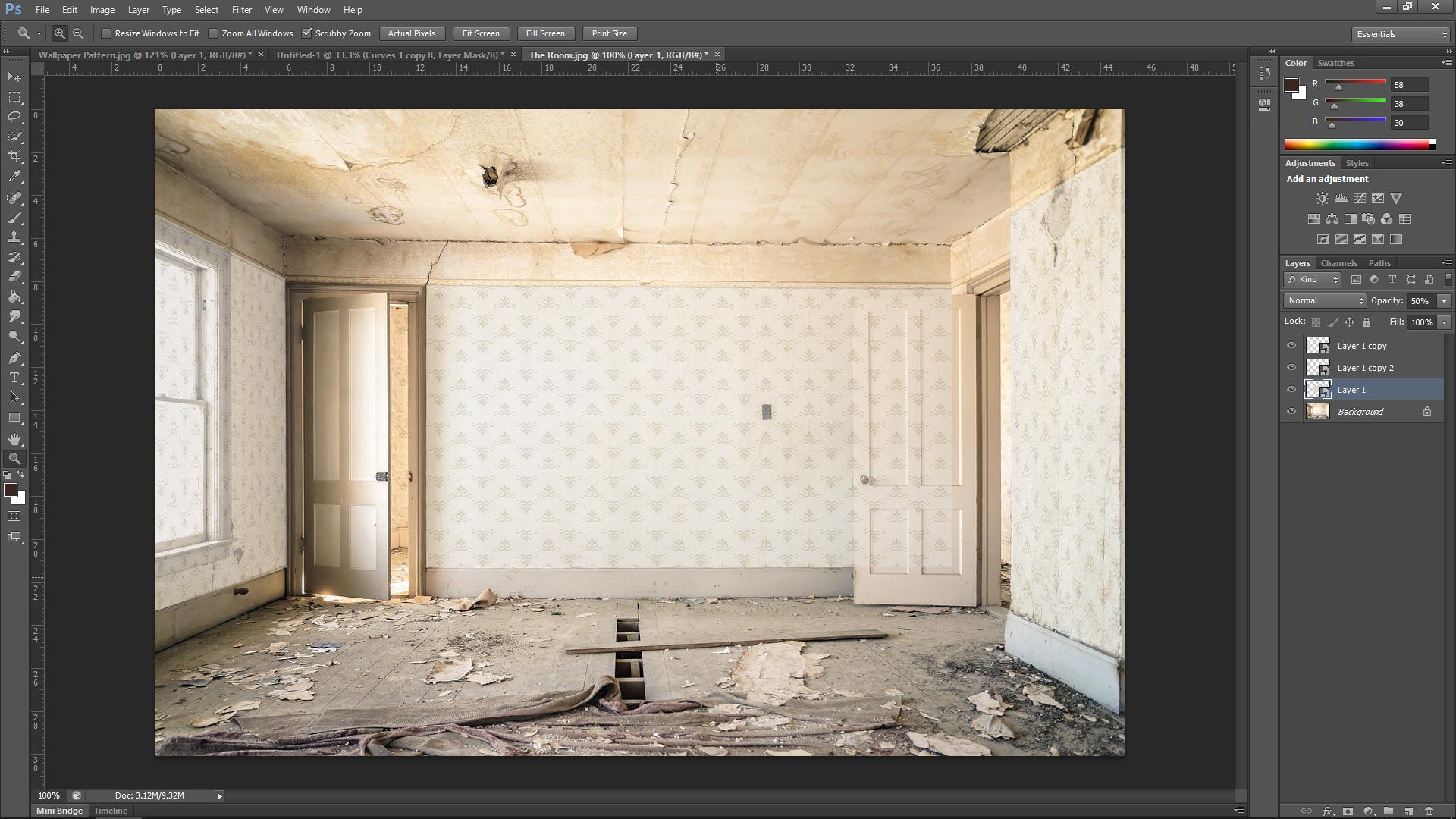 Wallpaper Photoshop