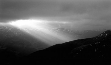 Documenting Winter in a Remote Glen in the Scottish Highlands