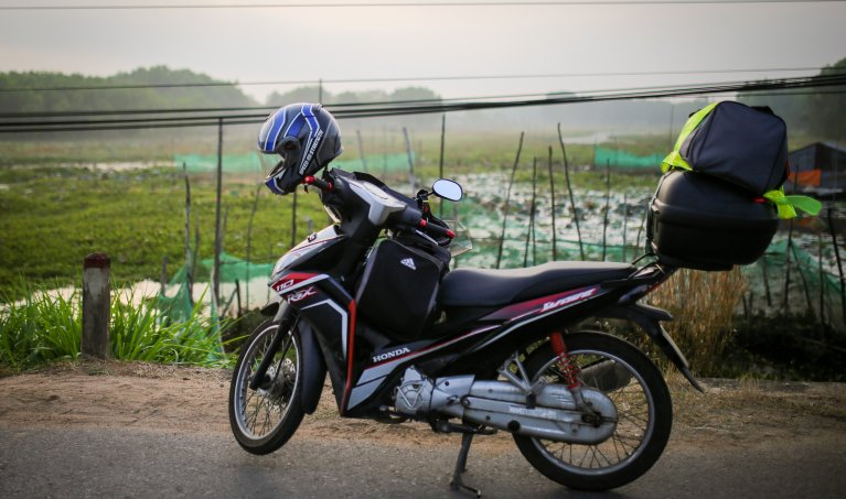 Exploring Southern Vietnam's Coast by Motorbike - Part 1