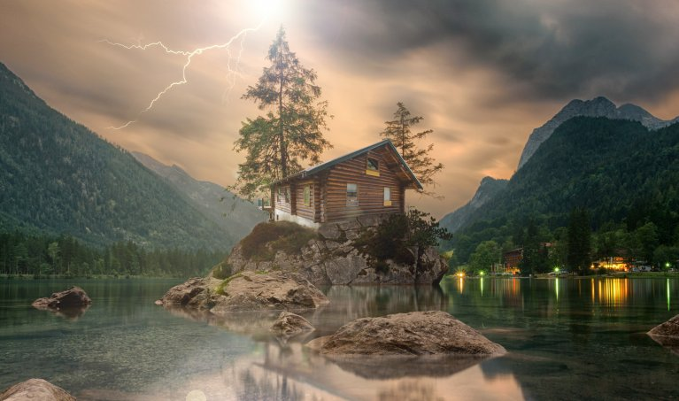 Create an Epic Photo Manipulation with just 2 Images: Part 3