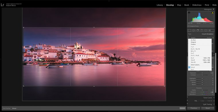 Instagram Tip: Posting multiple images to form a seamless panorama