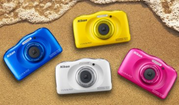 Nikon Coolpix S33 Review: Time to dive in!