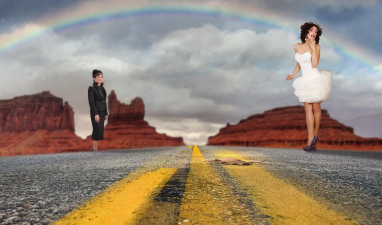 Create a Beautiful Rainbow Photo Composite in Adobe Photoshop