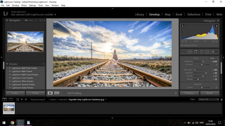 Some Help with Golden Hour Photo Editing in Lightroom