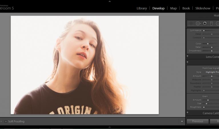 Naturally enhancing photographs in Adobe Lightroom