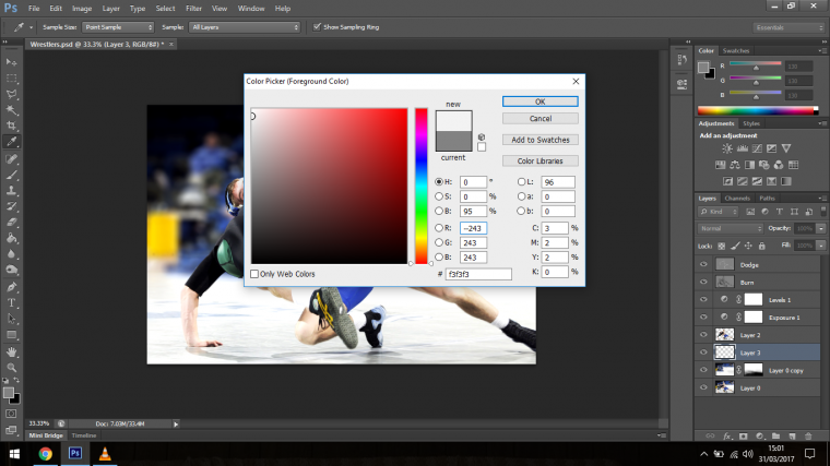 How to Create Dramatic Effects for Sports Photography in Photoshop