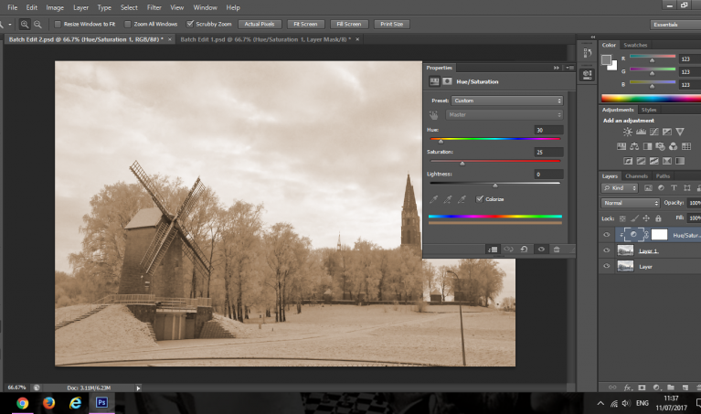 Batch Editing with Photoshop: Speeding your Editing Workflow