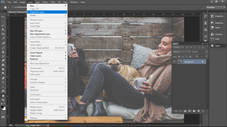 A Cool Way to Save Underexposed Images with Adobe Photoshop