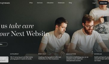 FloThemes Cannes WordPress Theme Review for Photographers