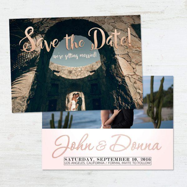 Save The Date Templates for Photographers - Elegant Designs