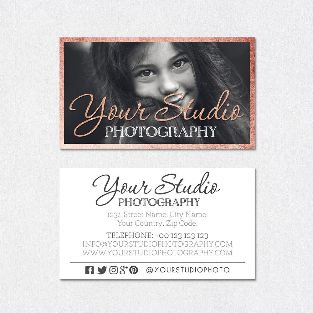 business card template light up